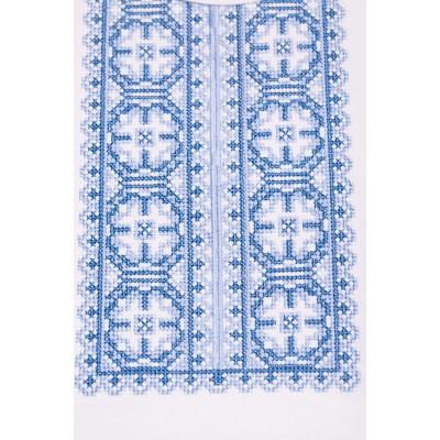 Футболка вышиванка женская Роксолана (интерлок белый)